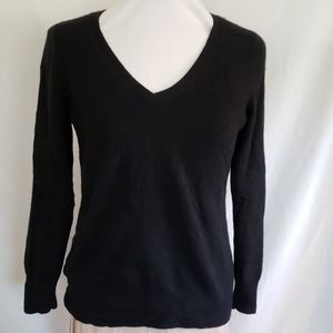 Talbots Cashmere Pullover V Neck Sweater